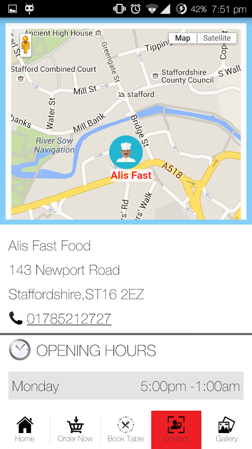 Alis Fast Food- screenshot
