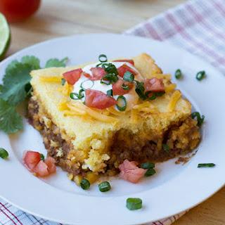 Mexican Chili & Cornbread (Slow Cooker).