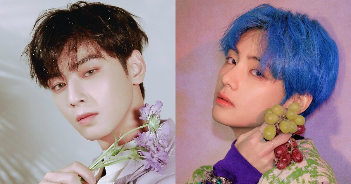 No One Could Possibly Survive This Visual Explosion Of ASTRO's Eunwoo Vs. BTS's V - Koreaboo