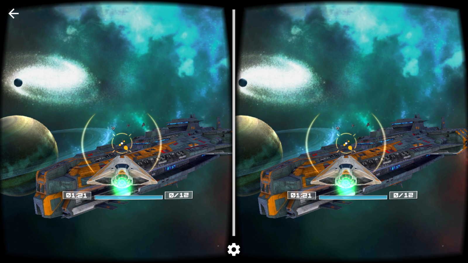 Deep Space Battle VR- screenshot