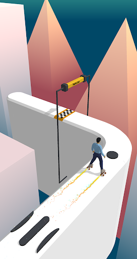 Sky Roller Skating - Rolling Balls  screenshots 2
