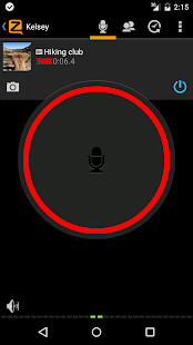 Zello PTT Walkie Talkie Screenshot