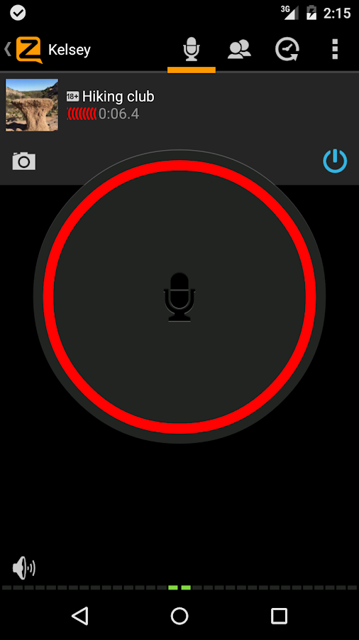 Zello PTT Walkie Talkie- screenshot