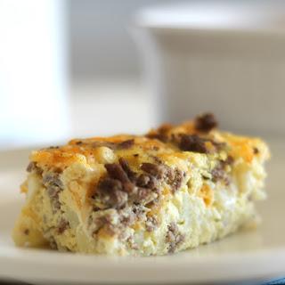 Cauliflower Cheese Egg Bake Recipes.