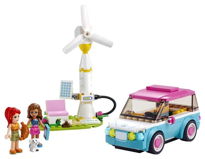 Contenido de Lego® 41443 Coche Eléctrico de Olivia