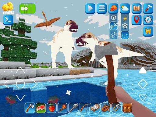 RaptorCraft 3D: Survival Craft u25ba Dangerous Worlds 5.0.4 screenshots 11
