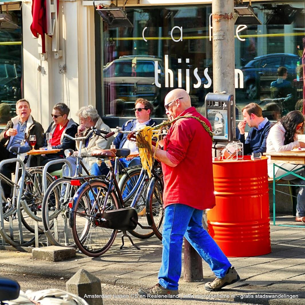 Aangeboden door: Stichting Microtoerisme InZicht Fotoblog Amsterdam Lindengracht cafe Thijssen