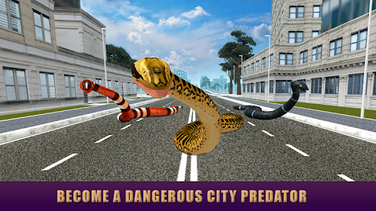City Snake: Anaconda Simulator screenshot 4