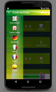 Multi Leagues Live Score- screenshot thumbnail