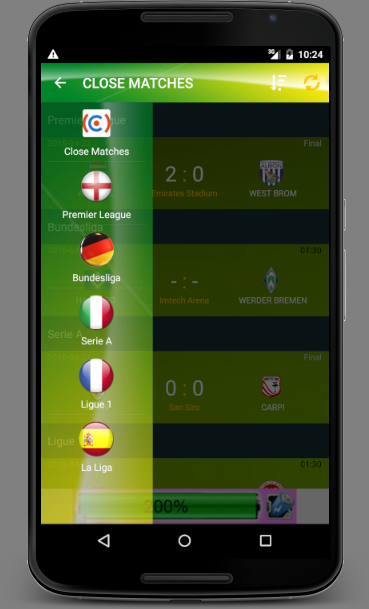 Multi Leagues Live Score- screenshot