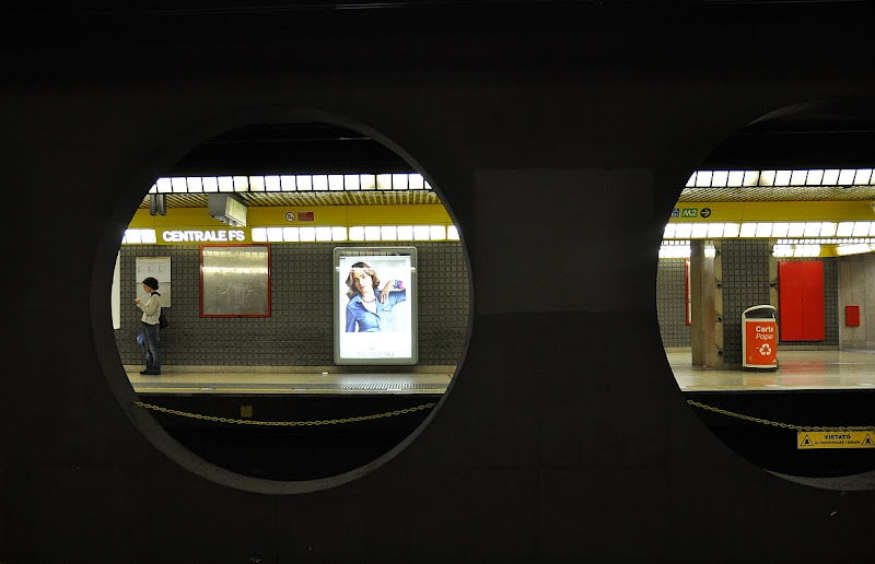 in the subway di Paolo Zanoni