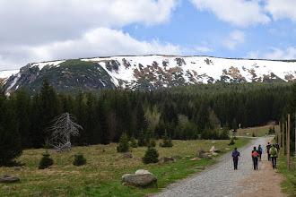 Photo: Výstup z Karpacze na hlavní hřeben Krkonoš