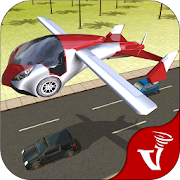 Flying Car Driving Simulation