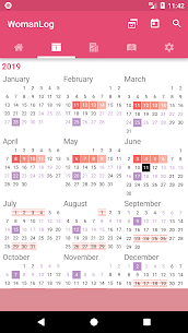 WomanLog Period Tracker & Calendar PRO APK (Patched) 5