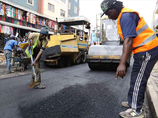Sonko spends Sh1.3 billion on city roads and bridges