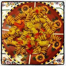 Photo: Rosy's pasta with vegetables #intercer #food #pasta #tomatoes #onion #pepper #veggie #vegetables #plate #taste #tasty #instafood #yummy #supper #lunch #homemade #eat #eating - via Instagram, http://instagr.am/p/NahBwOpfrL/