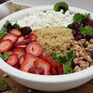 Strawberry Quinoa Salad w/ Balsamic Vinaigrette