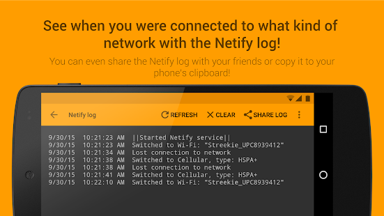 Netify - Network Notifications- gambar mini screenshot