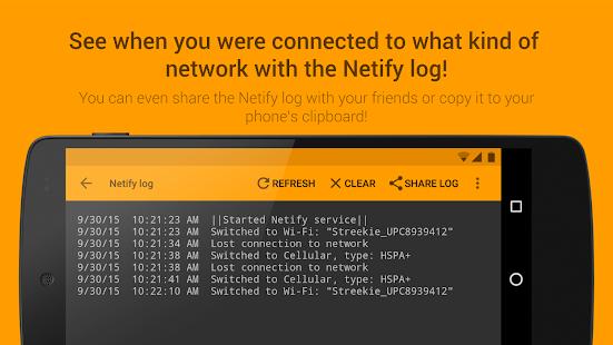 App Netify - Network Notifications APK for Windows Phone