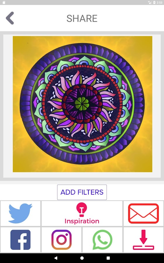 IColor Club FREE Coloring Book Pages For Adults Screenshot