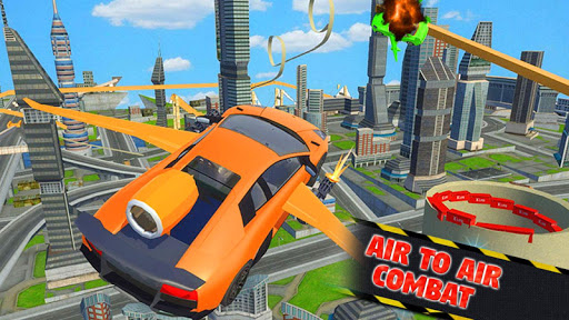 Futuristic Flying Car Ultimate - Aim and Fire 2.5 screenshots 1