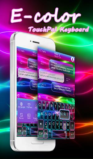 E Color Keyboard Theme  screenshots 1