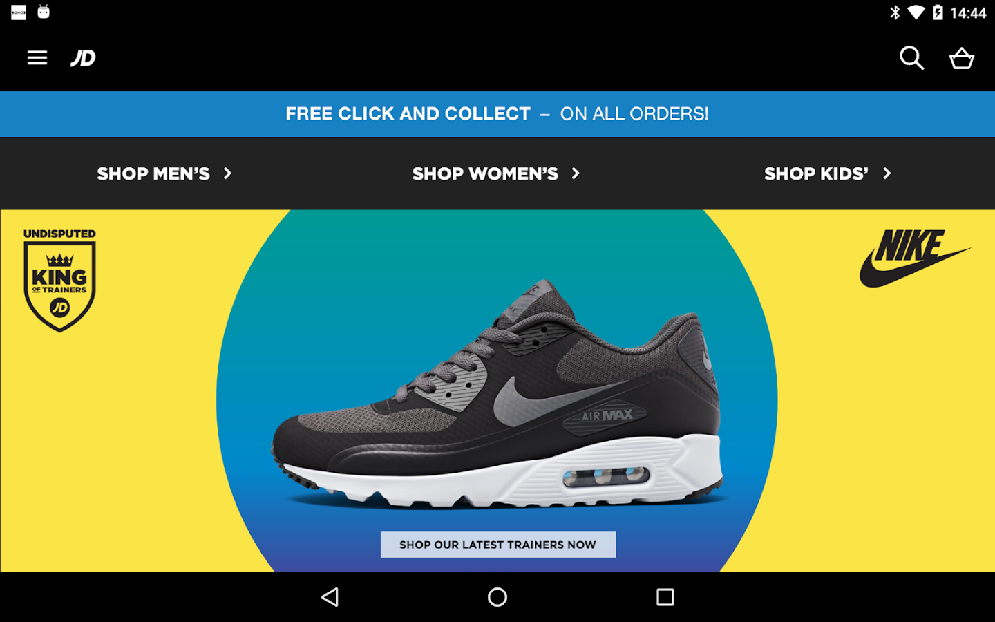 JD Sports- screenshot