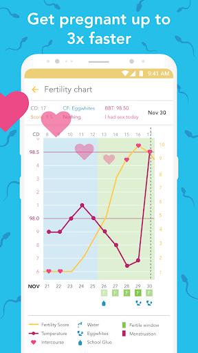 Ovia Fertility: Ovulation & Cycle Tracker 2.3.8 screenshots 3