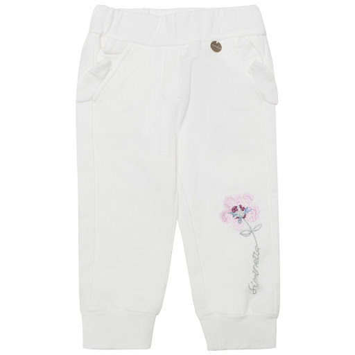 Thumbnail images of Simonetta Shoes Flower Embroidered Jogger