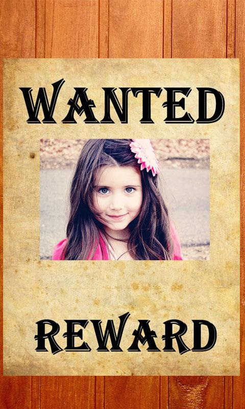 Most Wanted Poster Maker Android Apps on Google Play – Missing Person Poster Generator
