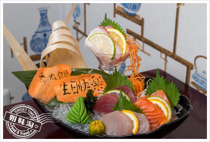 番太郎日式居酒屋招牌綜合生魚片