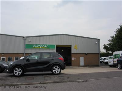 Europcar On Sherrington Way Car Van Hire In Basingstoke Rg22 4dq