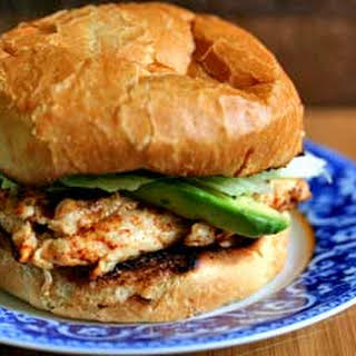 Chipotle Grilled Chicken with Avocado Sandwich.