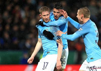Bonne surprise à Manchester City: De Bruyne est bien là!