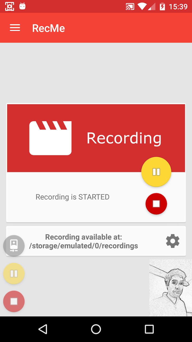 RecMe Screen Recorder Screenshot 0