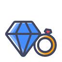 Tanishq, Bhangagarh, Guwahati logo