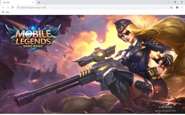 Mobile Legends: Bang Bang New Tab Theme