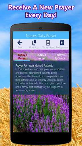 Nurse's Prayer App