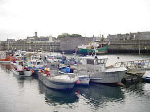 Photo: It's readily apparent why Concarneau is the third largest fishing port in France.