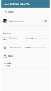 Calculadora Flutuante for PC-Windows 7,8,10 and Mac apk screenshot 2