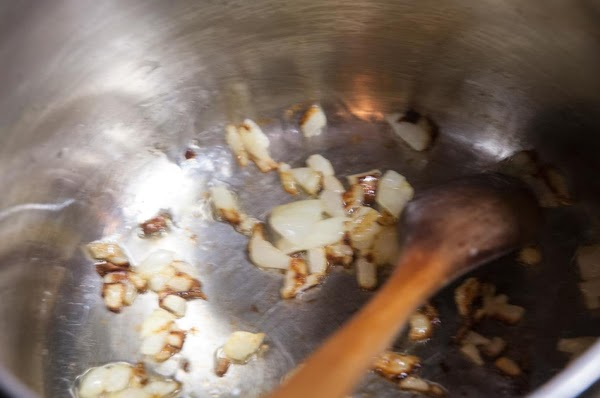 Sauté until the onions are beginning to soften, and slightly brown, about 3 to...