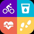 Salud y dieta - Podómetro & Entrenador de Peso icon