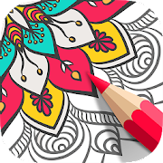 Mandalas Coloring Book for Adults: Adult Color App
