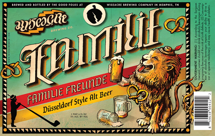 Logo of Wiseacre Familie Freunde Düsseldorf Style Alt Bier