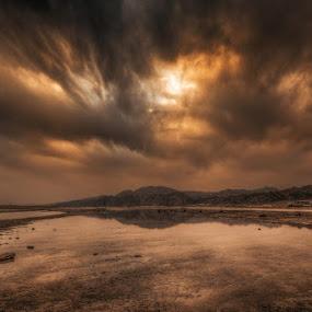 End of the world by Wojciech Toman - Landscapes Sunsets & Sunrises