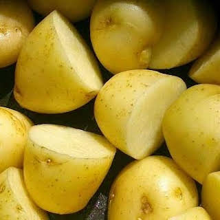 Potatoes in Finnish.
