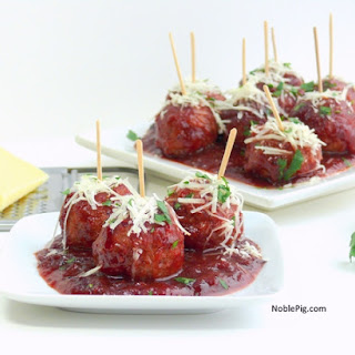 Kicked-Up Classic Cocktail Meatballs.