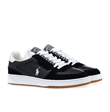 Polo Court PP Sneakers, black/white
