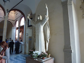 Photo: Statue of St. Caterina