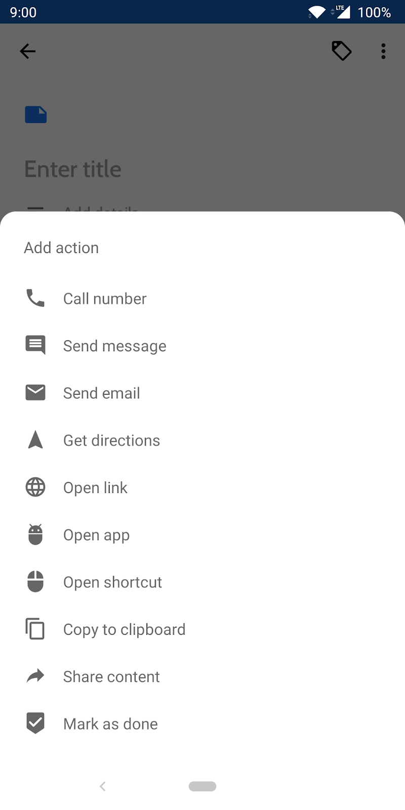 Collateral - Notes, Lists & Reminder Notifications Screenshot 6